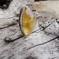 Citrine ring size T