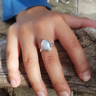 Moonstone Ring size O