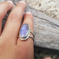 Purple Labradorite ring size P