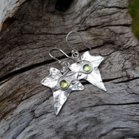 Ivy Peridot Earrings