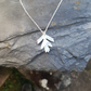 Hawthorn Leaf Necklace