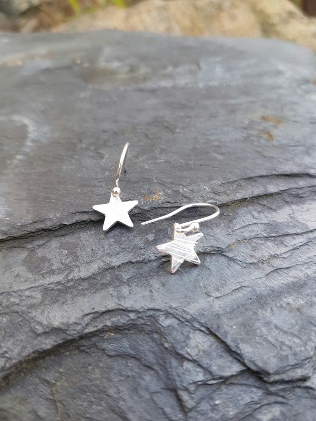 Star earrings small