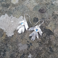 Hawthorn Moonstone Earrings