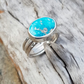 White Water Turquoise Stack, size  O or P