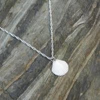 Scallop Shell Necklace.