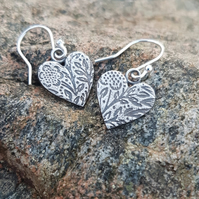 Morris Heart Earrings medium
