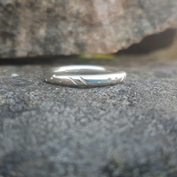 Tribal Halo Ring size Q