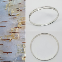 Birch bark Bangle