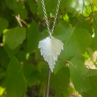 Silver Birch Necklace medium