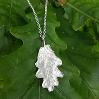 Oak Leaf Necklace.