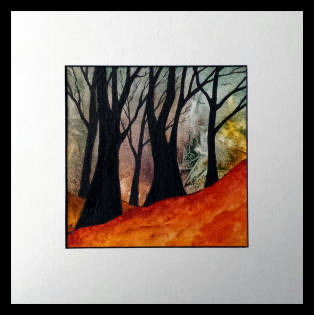 Autumn's Call, original painting