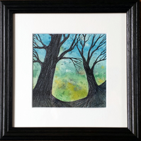 Moment of Solace, an original framed painting