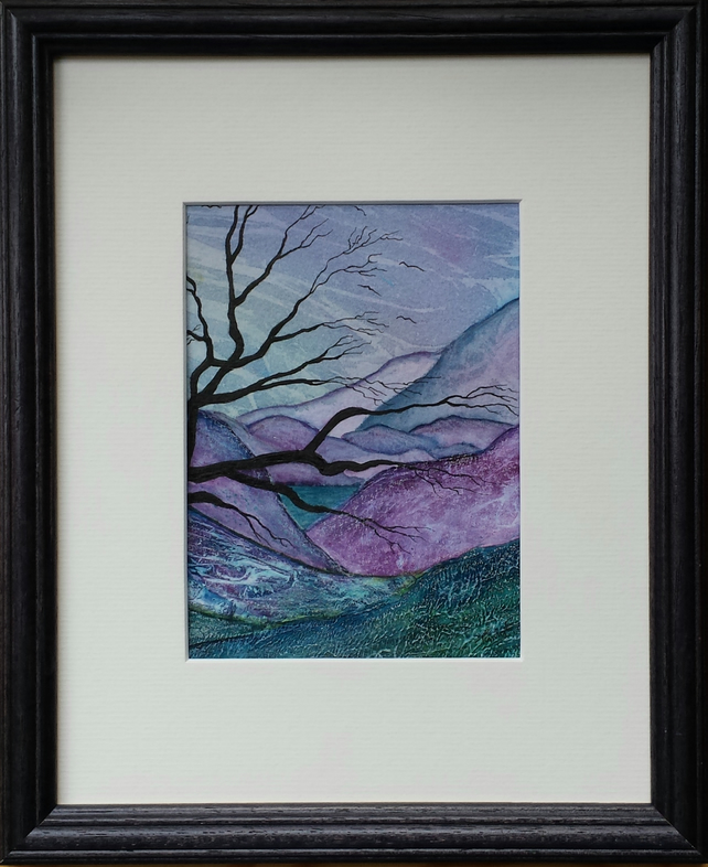 Chasing Dreams, original framed painting