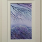 Reaching for Calm, an original watercolour painting