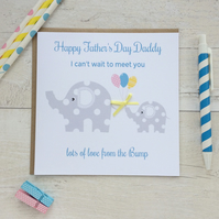 Handmade love from the Bump Father's Day Card (LB159)