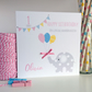 Personalised Elephant Birthday Card 1st First 2nd 3rd 4th - LB284