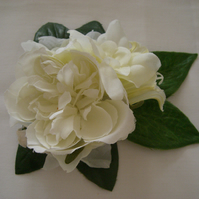 Bridal Ivory Vintage Style  Hairclip