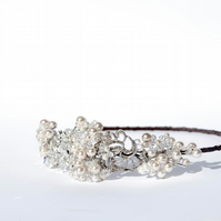 Vintage Jewelled Marcasite Headband