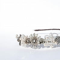 Vintage Jewelled Headband