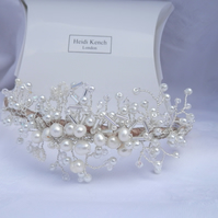 Wedding Ivory Pearl Headband
