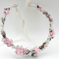 Bridesmaid Rose Crown