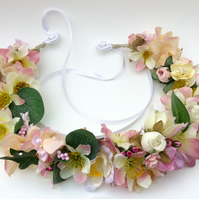 Pale Pink Woodland Crown