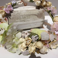 Handmade Sea Shell Crown