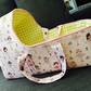 baby doll carry cot, moses basket, carrier