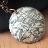 Steam Punk Pendant and Chain