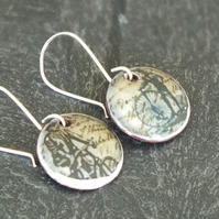 Vintage cyclist earrings