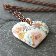 Floral Chintz Heart