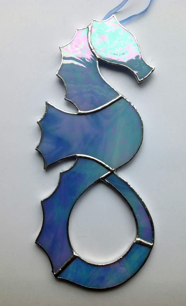 Stained Glass Seahorse Sun Catcher Folksy