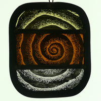 Pale Swirl light catcher