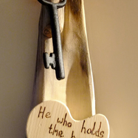 He would holds the key can unlock my Heart,     Valentine gift.