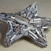 "8"" Driftwood starfish shaped wallhanging,for Lorraine"