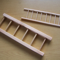 Ladder for pet animal or bird, made from pine, made to order to suit your pet.