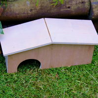 Wild frog toad newt house or shelter for garden creatures to overwinter in.