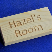 WOODEN DOOR NAME PLATE FOR CHILDREN OR BABY BEDROOM OR PLAYROOM