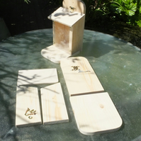Wild squirrel feeder for your garden help feed the squirrels.