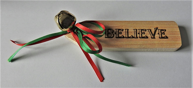 Magic bell ring it and see if you still believe in Father Christmas