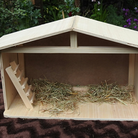 Christmas Nativity shelter stable for Baby Jesus at Xmas season