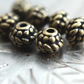 7 Antique Bronze Metal Spacer 7 x 6 mm