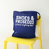 Shoes & Prosecco Tote Bag