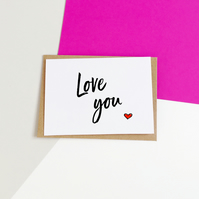 Love You Love Card