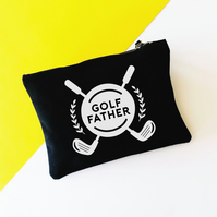 Funny Golf Father Golf Storage Bag