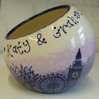 Personalised Wedding Tilt-a-Bowl
