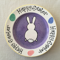 Personalised Ceramic Easter Plate