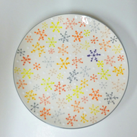 Snowflake Coupe Plate