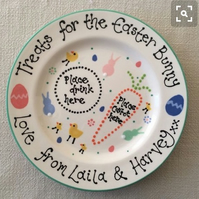 Personalised Easter Treat Plate