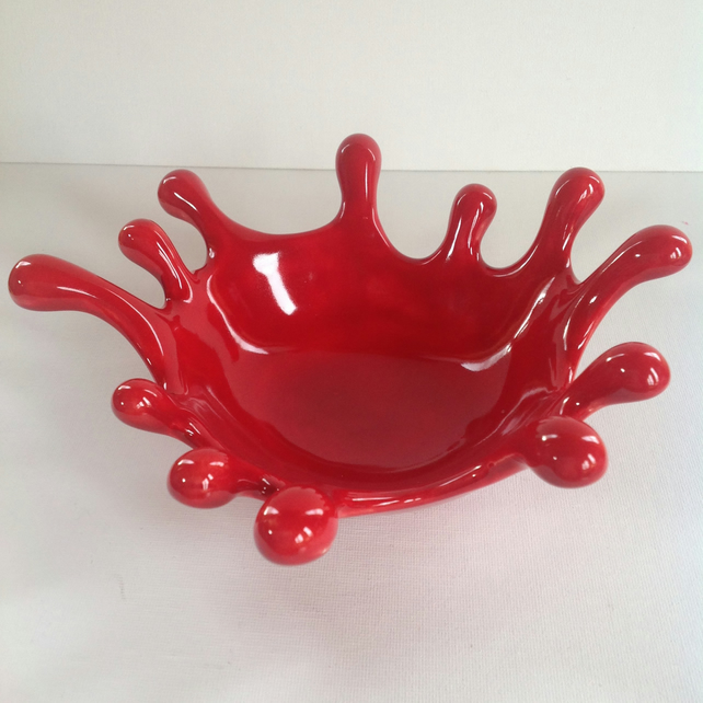 Ceramic Splat Bowl
